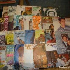 Discos de vinilo: LOTE DE 25 SINGLES MUSICA VARIADA VER FOTOS. Lote 173633300