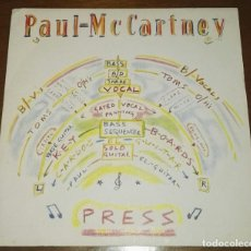 Discos de vinilo: SG PAUL MCCARTNEY PRESS EDICION ESPAÑOLA. Lote 173636728