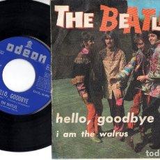 Discos de vinilo: THE BEATLES - HELLO, GOODBYE - I AM THE WALRUS. Lote 173637152