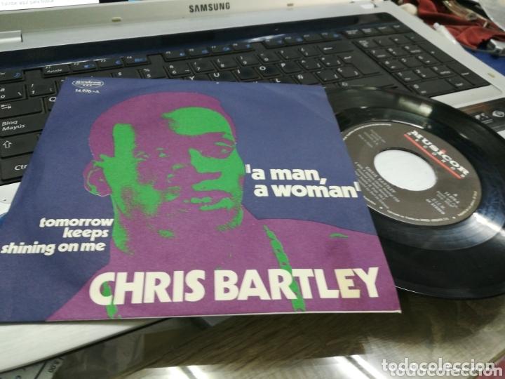 CHRIS BARTLEY SINGLE A MAN, A WOMAN ESPAÑA 1971 (Música - Discos - Singles Vinilo - Funk, Soul y Black Music)