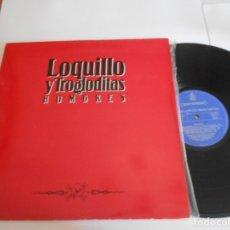 Discos de vinilo: LOQUILLO Y TROGLODITAS-LP HOMBRES. Lote 173643639