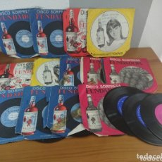 Discos de vinilo: LOTE 16 DISCOS VINILO DISCO SORPRESA FUNDADOR. Lote 173654364