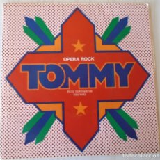 Discos de vinilo: PETE TOWNSHEND - ROGER DALTREY TOMMY OPERA ROCK POLYDOR 1975 EDIC. LA VANGUARDIA. Lote 173658408