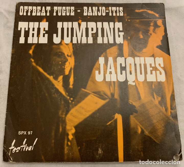THE JUMPING JACQUES – OFFBEAT FUGUE SELLO: DISQUES FESTIVAL – SPX 97 FORMATO: VINYL, 7 PAÍS: FR (Música - Discos - Singles Vinilo - Jazz, Jazz-Rock, Blues y R&B)
