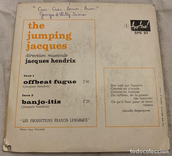 Discos de vinilo: The Jumping Jacques – Offbeat Fugue Sello: Disques Festival – SPX 97 Formato: Vinyl, 7 País: Fr - Foto 2 - 173659638