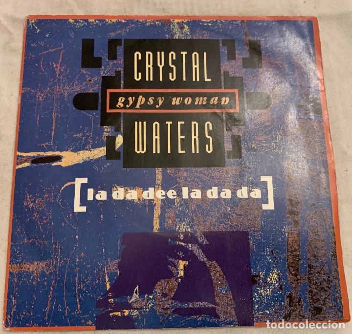 CRYSTAL WATERS ?– GYPSY WOMAN (LA DA DEE LA DA DA) SELLO: MERCURY ?– 868 396-7 FORMATO: VINYL, 7 (Música - Discos - Singles Vinilo - Techno, Trance y House)
