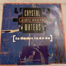 Disques de vinyle: CRYSTAL WATERS ?– GYPSY WOMAN (LA DA DEE LA DA DA) SELLO: MERCURY ?– 868 396-7 FORMATO: VINYL, 7. Lote 173662700