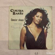 Discos de vinilo: CLAUDJA BARRY – DANCIN' SHOES SELLO: FLARENASCH – 721 610 FORMATO: VINYL, 7 , 45 RPM, SINGLE . Lote 173665629