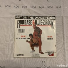 Disques de vinyle: ROB BASE & DJ E-Z ROCK ‎– GET ON THE DANCE FLOOR SELLO: PROFILE RECORDS ‎– 14243-7, CLEVER ‎– 14243. Lote 173665749