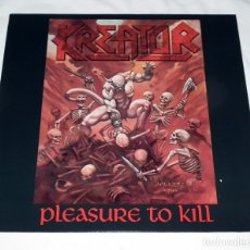 Discos de vinilo: LP KREATOR - PLEASURE TO KILL. Lote 173668422