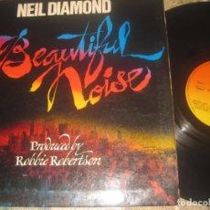 Discos de vinil: NEIL DIAMOND - BEAUTIFUL NOISE - (CBS- 1976 OG ESPAÑA - DOBLE PORTADA. Lote 173673920