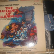 Discos de vinilo: THE HEROES OF TELEMARK (MAINSTREAM RECORDS – S/6064-1965) OG USA SOUNDTRACK MALCOLM HENRY ARNOLD. Lote 173674900