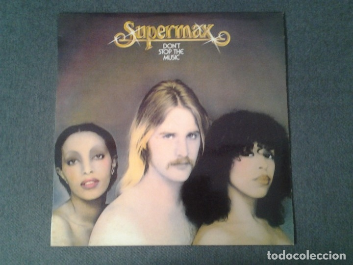 SUPERMAX -DON'T STOP THE MUSIC- LP ATLANTIC 1976 ED. ESPAÑOLA HATS 421-274 MUY BUENAS CONDICIONES. (Música - Discos - LP Vinilo - Jazz, Jazz-Rock, Blues y R&B)