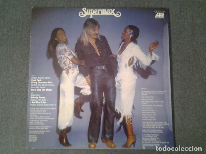 Discos de vinilo: SUPERMAX -DON'T STOP THE MUSIC- LP ATLANTIC 1976 ED. ESPAÑOLA HATS 421-274 MUY BUENAS CONDICIONES. - Foto 4 - 173676080