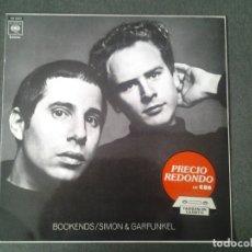 Discos de vinilo: SIMON Y GARFUNKEL -BOOKENDS- LP CBS 1970 ED. ESPAÑOLA CBS 32073 MUY BUENAS CONDICIONES. . Lote 173676538