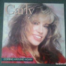 Discos de vinilo: CARLY SIMON - COMING AROUND AGAIN- LP ARISTA 1987 ED. ALEMANA 208 140 MUY BUENAS CONDICIONES.. Lote 173677124