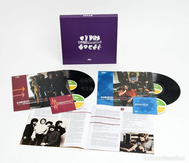 DEEP PURPLE * BOX SET BBC SESSIONS 1968-1970 * DELUXE 2 LP + 2 CD * CAJA PRECINTADA!! (Música - Discos - LP Vinilo - Heavy - Metal)