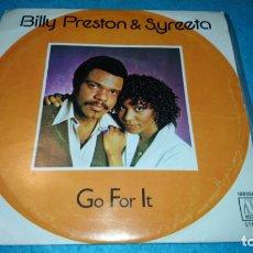 Discos de vinilo: BILLY PRESTON & SYREETA - GO FOR IT . Lote 173681628
