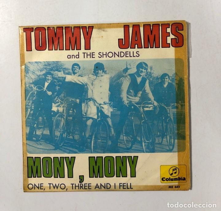 DISCO VINILO. TOMMY JAMES AND THE SHONDELLS. MONY, MONY. COLUMBIA. 1968. EDICION ESPAÑOLA (Música - Discos - Singles Vinilo - Pop - Rock Extranjero de los 50 y 60)