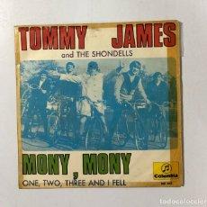 Discos de vinilo: DISCO VINILO. TOMMY JAMES AND THE SHONDELLS. MONY, MONY. COLUMBIA. 1968. EDICION ESPAÑOLA. Lote 173734124