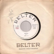 Discos de vinilo: SINGLE LOS 4+4 / LOS CINCO LATINOS BELTER 7-16 SPAIN 1964 PROMO GERONIMO/TE AMO Y TE AMARE. Lote 173738328