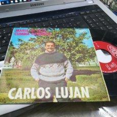 Discos de vinilo: CARLOS LUJAN SINGLE MARÍA LA LISTA ACROPOL 1967. Lote 173749469