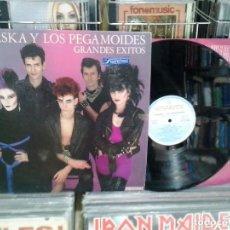Discos de vinilo: LMV - ALASKA Y LOS PEGAMOIDES. GRANDES ÉXITOS. HISPAVOX 1982, REF. S 60.722. Lote 173751639