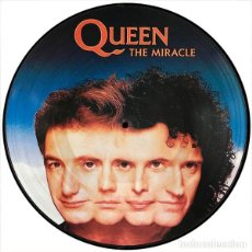 Disques de vinyle: QUEEN LP THE MIRACLE PICTURE DISC MUY RARO COLECCIONISTA. Lote 173752228