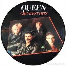 Discos de vinilo: QUEEN LP GREATEST HITS PICTURE DISC MUY RARO COLECCIONISTA. Lote 173752785