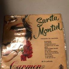 Discos de vinil: SARITA MONTIAL - CARMEN. Lote 173758022