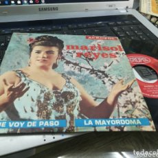 Discos de vinilo: MARISOL REYES SINGLE QUE VOY DE PASO ACROPOL 1970. Lote 173759935