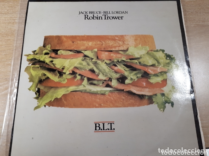 ROBIN TROWER JACK BRUCE BILL LORDAN B.L.T. 1981 (Música - Discos - LP Vinilo - Pop - Rock - Extranjero de los 70)