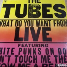 Discos de vinilo: THE TUBES WHAT DO YOU WANT FROM LIVE DOBLE LP. Lote 173793482
