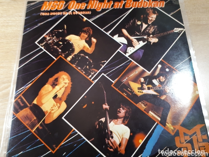 MICHAEL SCHENKER GROUP ONE NIGHT AT BUDOKAN MSG DOBLE LP (Música - Discos - LP Vinilo - Pop - Rock - Extranjero de los 70)
