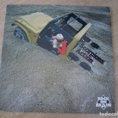 Discos de vinilo: LP. SCORPIONS. ACTION. MUY BUENA CONSERVACION. Lote 173794928