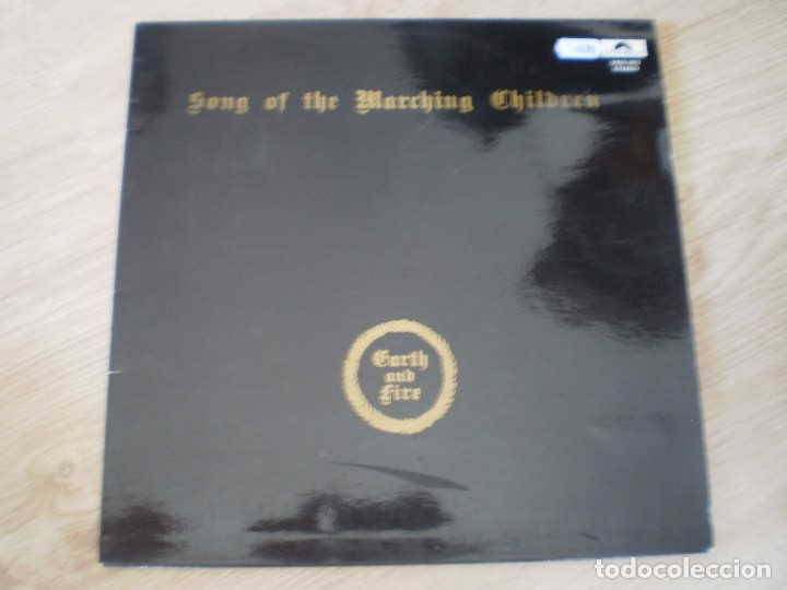 LP. EARTH AND FIRE. SONG OF THE MARCHING CHILDREN. EXCELENTE CONSERVACION (Música - Discos - LP Vinilo - Heavy - Metal)