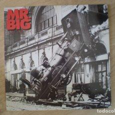Discos de vinilo: LP. MR. BIG. LEAN INTO IT. BUENA CONSERVACION, FALTA GALLETA EN CARA 2. . Lote 173796187