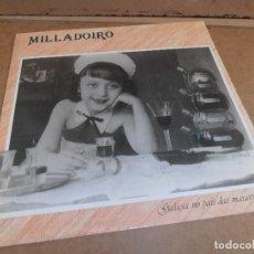 Discos de vinilo: LP MILLADOIRO -- GALICIA NO PAIS DAS MARAVILLAS. Lote 173797038
