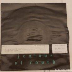 Discos de vinilo: THE THE – JEALOUS OF YOUTH SELLO: EPIC – 655796 7 FORMATO: VINYL, 7 , SINGLE PAÍS: EUROPE . Lote 173799319