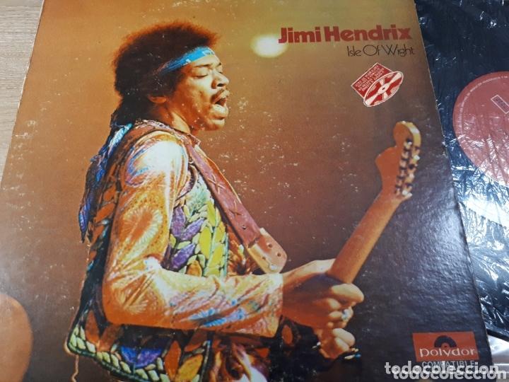 JIMI HENDRIX ISLE OF WIGHT IMPORTADO DE VENEZUELA (Música - Discos - LP Vinilo - Pop - Rock - Extranjero de los 70)