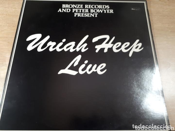 URIAH HEEP LIVE JANUARY 1973 DOBLE LP (Música - Discos - LP Vinilo - Pop - Rock - Extranjero de los 70)