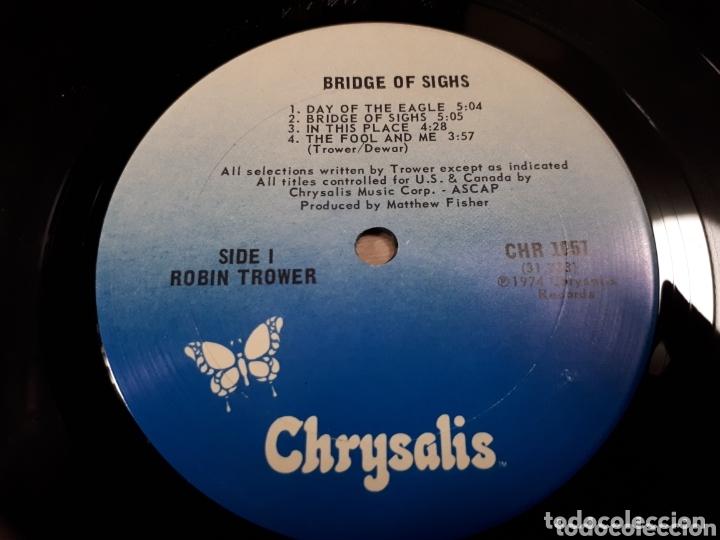 Discos de vinilo: ROBIN TROWER BRIDGE OF SIGHS - Foto 5 - 173804280