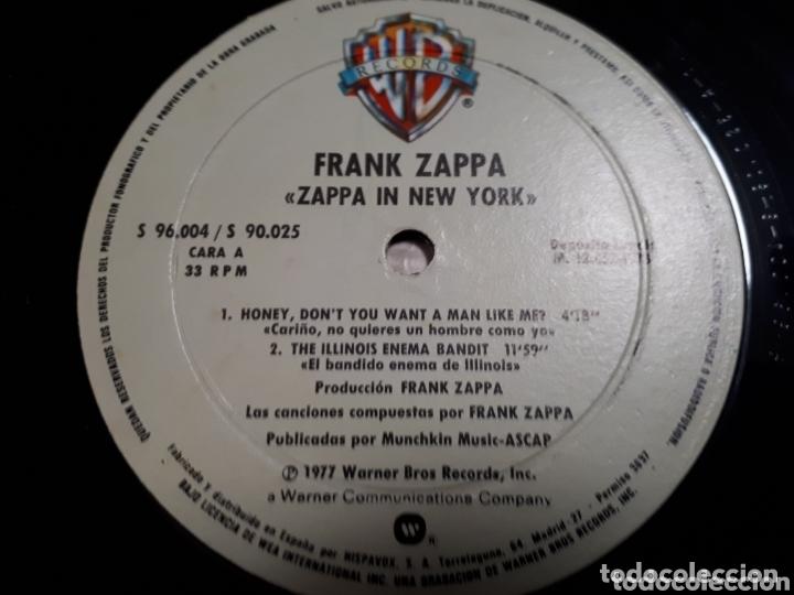 Discos de vinilo: FRANK ZAPPA IN NEW YORK DOBLE LP - Foto 5 - 173804737