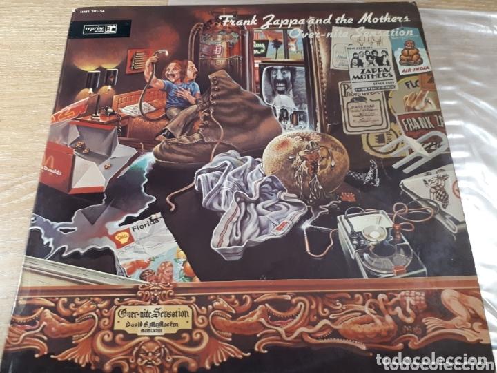 FRANK ZAPPA OVER NITE SENSATION (Música - Discos - LP Vinilo - Pop - Rock - Extranjero de los 70)