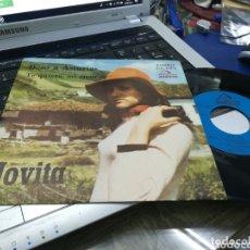 Discos de vinilo: JOVITA SINGLE BESO A ASTURIAS 1973 AUDIENS. Lote 173806210
