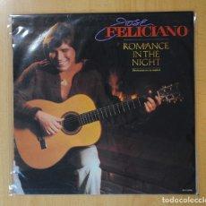 Discos de vinilo: JOSE FELICIANO - ROMANCE IN THE NIGHT - LP. Lote 173808233