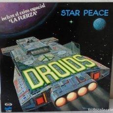 Discos de vinilo: DROIDS - STAR PEACE BARCLAY 1978. Lote 173808762