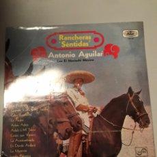 Discos de vinilo: ANTONIO AGUILAR - RANCHERAS SENTIDAS. Lote 173810332