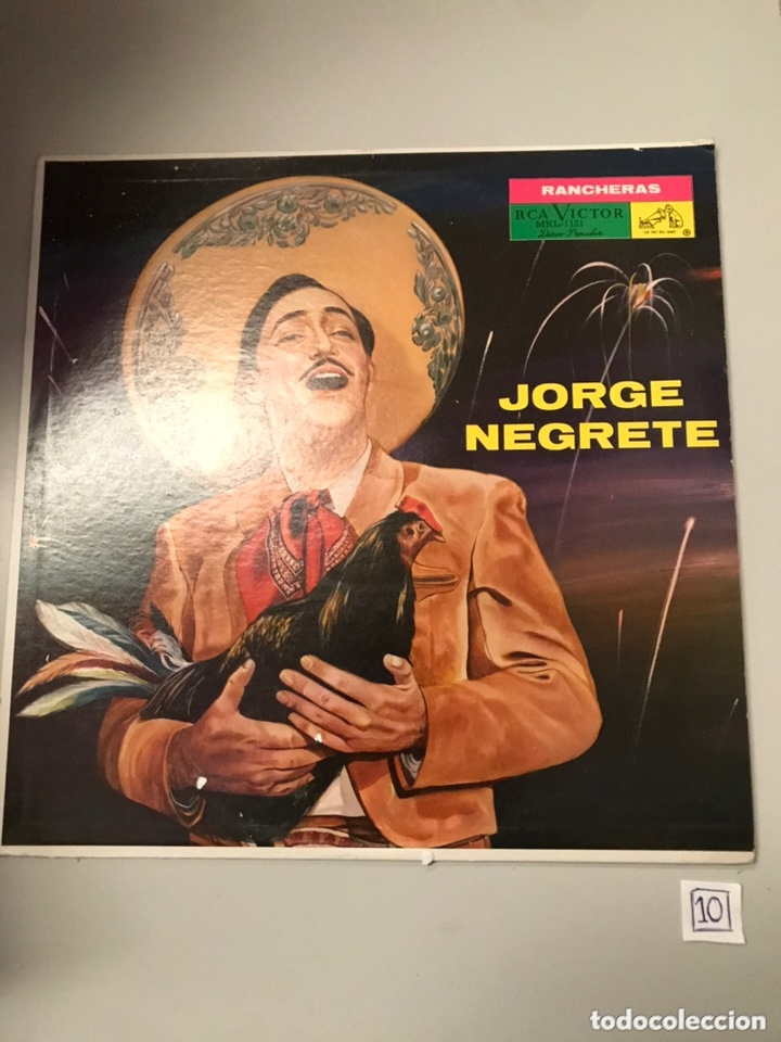 JORGE NEGRETE - RANCHERAS (Música - Discos - LP Vinilo - Cantautores Extranjeros)