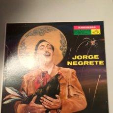 Discos de vinilo: JORGE NEGRETE - RANCHERAS. Lote 173810828